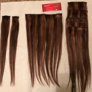 Accessories - Clip-in hair extensions